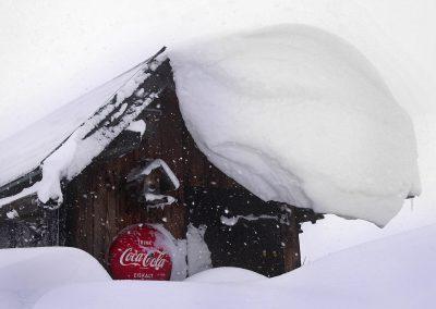 Coke eiskalt